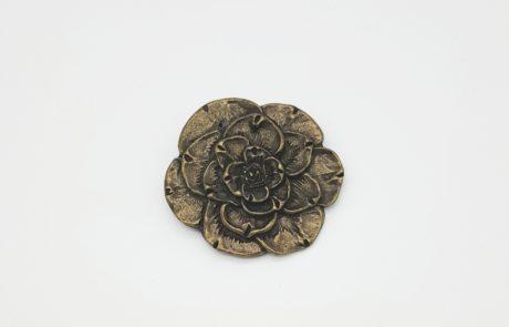 fibbia per cintura fiore