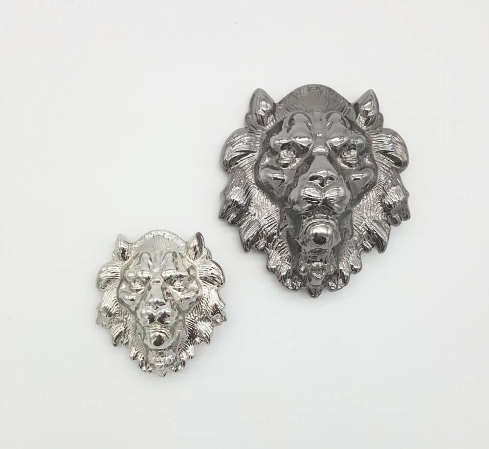 fibbia per cintura leone